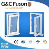 L'Aluminium français vers l'intérieur de l'ouverture de la fenêtre à battant avec des blinds