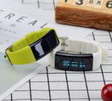 24 horas de bracelete esperto do monitor contínuo Realtime da frequência cardíaca