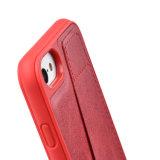 C&TのユニバーサルiPhone 6 6s及びiPhone 7のためのカードスロットとの革札入れの箱TPUの豊富な保護箱カバーRFID保護技術カバーケース