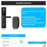 コードのホームスマートなBluetooth APPの電子ドアロック、カード、指紋、主機能
