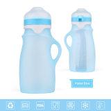中国の卸売4カラー携帯用250ml再使用可能な挿入の哺乳瓶