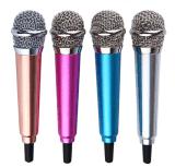Mini clip de câble par 3.5mm mobile de vente chaud de microphone sur le mini microphone de karaoke d'écouteur pour l'ordinateur de tablette d'iPhone&Android