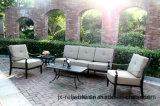 Mobilia stabilita del giardino della fusion d'alluminio del sofà classico di chiacchierata