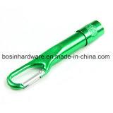 LEDアルミニウムCarabiner Keychainの懐中電燈