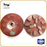 Мало Ant пластмассовый клей алмазные шлифовальные диски для пола шлифовальный станок