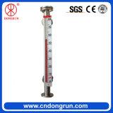 Contador de nivel líquido magnético Cara-Montado Uhz-99A del agua