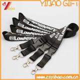 El logotipo de la impresión de cordón de plástico con tarjeta de identificación (YB-LY-16)