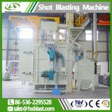 ISO Huaxing procesamiento previo de la pieza de metal ferroso Granallado máquina