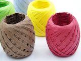 Документ Craft лента Raffia рулон бумаги для разработки, повешения, упаковку и DIY