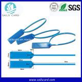 Tag RFID imprimable de fréquence ultra-haute d'ISO18000-6c 915MHz pour la gestion de patrimoine