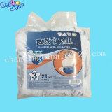 Venda por grosso de Tecidos não tecidos descartáveis 3D Formação Antifuga Calças de Bebé Fraldas