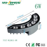 2 anos de garantia 6W LED de exterior a lâmpada de Papelão Ondulado