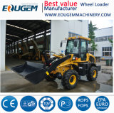 Eoguem Qingzhou kleine Rad-Ladevorrichtung Zl16 mit Winter-Reifen, kleine Ladevorrichtung 1.6ton