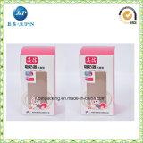 Оптовые коробки хранения картона бумаги Brown малые белые (JP-box015)