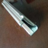 Personalizar el perfil extrusionado de aluminio de la rampa de cortina