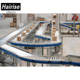 Kasten-flexibles Spannplastikriemen-Lieferanten-Schwerkraft-Rollen-Förderanlage