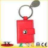 Nette Mappen-Form Keychain PU-lederne Schlüsselkette für Förderung-Geschenk