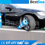 Kleurrijke Flexibele Delineator van het Parkeren van EVA Plastic Verwijderbare Meerpaal