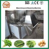 Frutas verduras al vapor de patata y blanqueando la máquina