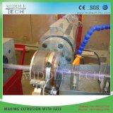 Singolo estrusore a vite di plastica per il tubo di rinforzo intrecciato fibra molle del giardino di PVC/SPVC