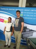 Automatischer vertikaler PlastikSilk Bildschirm-Drucker des blatt-Tam-Z4 mit UVtrockner