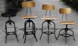 정원 거실 의자를 식사하는 Toledo 금속 Barstools 산업 대중음식점
