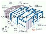 Almacén prefabricado de la estructura de acero vivo