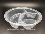 A gettare togliere l'alimento di plastica/memoria/casella di a microonde con il coperchio