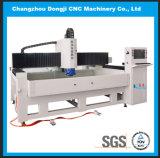 Máquina de pulir del borde de cristal triaxial horizontal del CNC para el vidrio de la dimensión de una variable