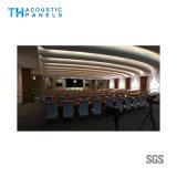scheda acustica decorativa della fibra di poliestere di Retartant della fiamma di 9mm per la sala riunioni