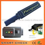 パスポートの擁護者の機密保護の金属探知器の手持ち型の金属探知器