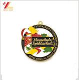 Preiswerte kundenspezifische MetallSilbermedaille/-medaillon für Konkurrenz (YB-m-021)