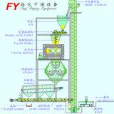 Produit chimique industriel engrais inorganiques poudre minérale auger rouleau double sec granulateur précompression