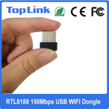Mini 802.11n 150Mbps Ralink RT5370 Hot vente adaptateur WiFi sans fil USB Stick pour Set Top Box l'appui Soft mode AP
