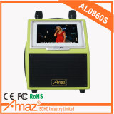 Amaz Professional Factory Trolley Announcer Wi-Fi Function HD Quality Two UHF Mics