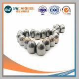 Botón de minería de tungsteno de carburo cementado poco de China