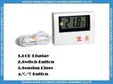 Электронный высокотемпературный термометр аквариума цифров водоустойчивый для жидкостной температуры