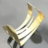 Nueva pulsera del regalo del oro del acero inoxidable de la joyería de las mujeres de la manera