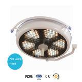 Indicatore luminoso chirurgico di di gestione della lampada LED del singolo soffitto della cupola (700C LED)