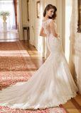 Amelie 바위 같은 구슬로 만드는 레이스 Tulle 결혼 예복 인어 신부 드레스