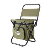 더 차가운 부대를 가진 옥외 접을 수 있는 휴대용 Ultralight 픽크닉 어업 접히는 간편 의자