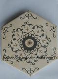 Mattonelle di pavimento di ceramica della decorazione esagonale