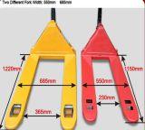3000кг желтый и красный цвет низкоподъемную тележку для поддонов