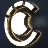 옥외 광고 LED Lightbox 원형 LED 편지 표시