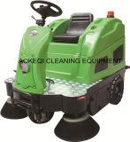 Conduite industrielle de matériel de nettoyage sur la machine de balayeuse de route de curseur de balayeuse d'étage