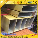 Hohles Quadrat/rechteckiges Aluminiumgefäß für Baumaterial