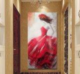 高品質のギャラリーのためのハンドメイドの絵画壁掛けの芸術プリント