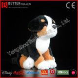 De Realistische Gevulde Dierlijke Levensechte Zachte Hond van de Berg van Bernese van de Pluche van het Stuk speelgoed ASTM
