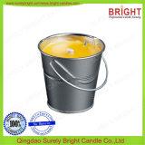 Gebemerkte Tincandle voor de Kaars van de Paraffine van de Citronellaolie van de Mug