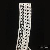 garniture chimique de lacet de collier de Polester de qualité de 33*38cm pour le réseau de cercle de l'habillement Hml8568 d'usure de dames
